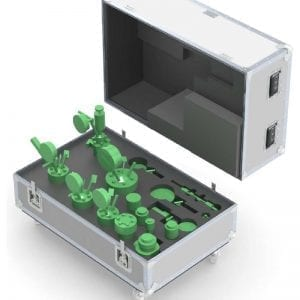 shipping case for lab equipment 70-450