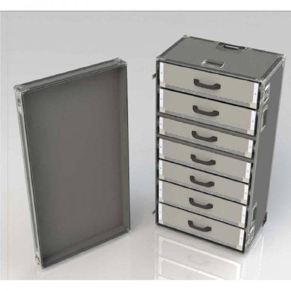 74-167 Tool case with drawers