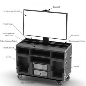 52-1371_1 HDTV Mechanical Lift Case