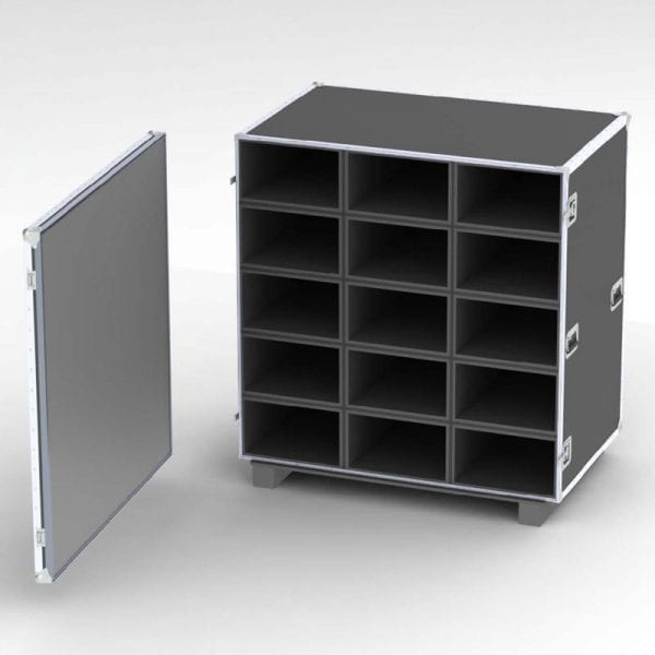 88-2612 Compartments Custom Shipping Case